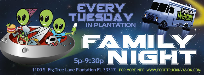 Family Night with Food Trucks - Plantation FL
