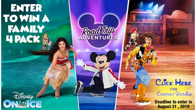 Enter to Win Family 4-Pack to Disney On Ice