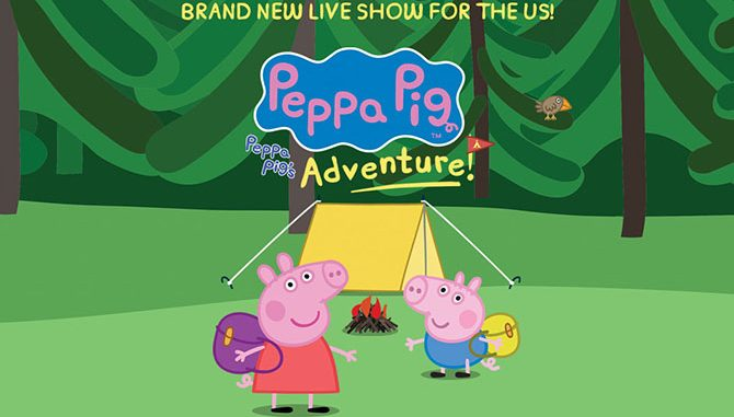 Enter to win a family four-pack to see Peppa Pig Live at Broward Center