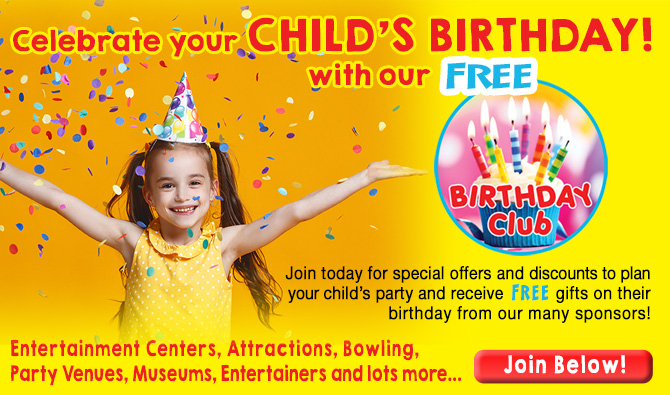 Join our free Birthday Club!