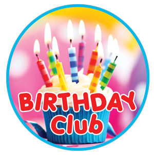 Join our FREE birthday club