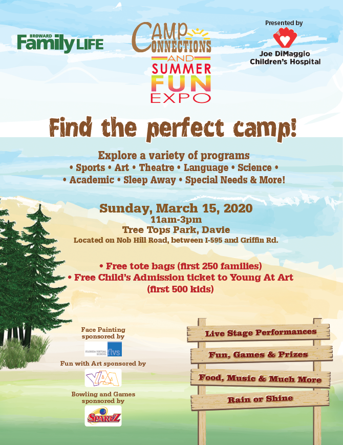 Camp Connections & Summer Fun Expo 2020