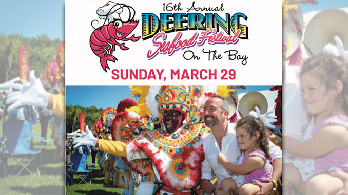 Win a Family 4-Pack to the Deering Seafood Festival
