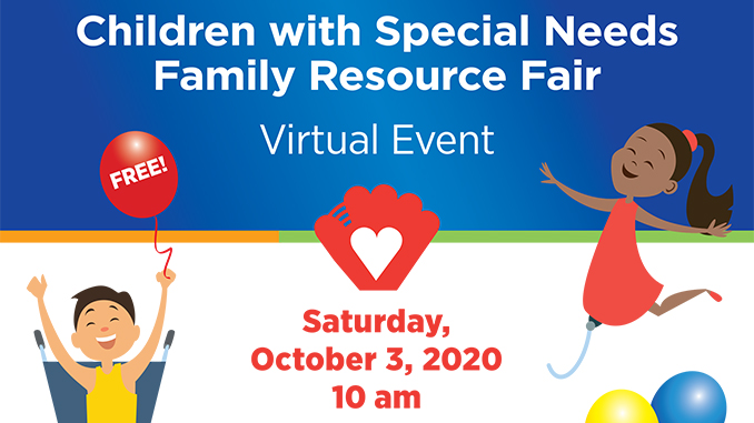 Children with Special Needs Family Resource Fair