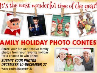 Family Holiday Photo Contest