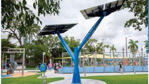 Meet Sunny, the Solar Tree