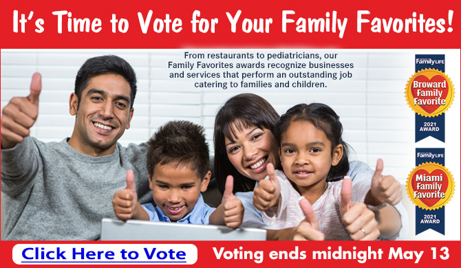 Vote for your Family Favorites