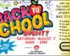 Free Back to School Event